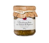 Gourmet Berner Basilikum-Pesto mit Tomate & Peperoni, 180 g