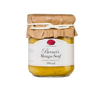 Gourmet Berner Mangosenf, 190 ml
