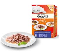 Gourmet Mon Petit, Nassfutter, 6x50g