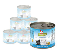 GranataPet DeliCatEssen für Katzen, Nassfutter, 6 x 200g