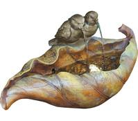 Granimex Polystone-Brunnen und Vogeltränke Fenuy, 49,5 x 2,5 x 23,5 cm