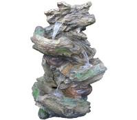 Granimex Polystone-Gartenbrunnen Hiroto, 36 x 46 x 78 cm