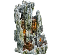 Granimex Polystone-Gartenbrunnen Wasserfall Mingxi, 80 x 72 x 150 cm