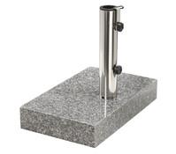 Granit Balkonschirmständer, 25 kg
