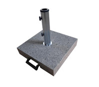Granit Balkonschirmständer, 45 kg