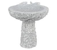 granit tisch mit 2 b nken grau dehner garten center. Black Bedroom Furniture Sets. Home Design Ideas