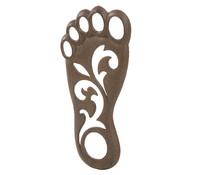 Gusseiserner Fußabdruck