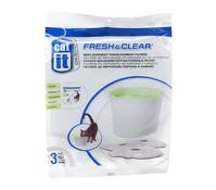 Hagen Catit® Ersatzfilter für Fresh & Clear Trinkbrunnen, 3 Stück