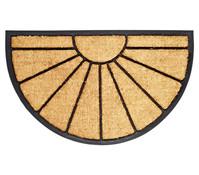 Hamat Fußmatte Bombay, halbrund, 45 x 75 cm