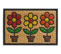 Hamat Fußmatte Flowerpots, 60 x 40 cm