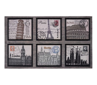 Hamat Fußmatte Poststamp, 45 x 75 cm