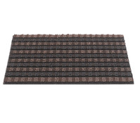 Hamat Fußmatte Quadro Scrape, braun/schwarz, 40 x 60 cm