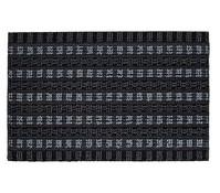 Hamat Fußmatte Quadro Scrape, grau/schwarz, 40 x 60 cm