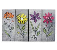 Hamat Fußmatte Summer Flowers, 45 x 75 cm