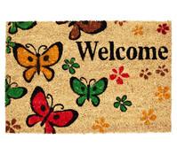 Hamat Fußmatte Welcome Butterfly, 60 x 40 cm