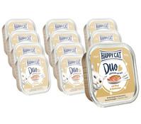 Happy Cat Duo Häppchen auf Paté, Nassfutter, 12 x 100 g