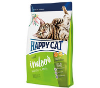 Happy Cat Supreme Indoor Adult Weide-Lamm, Trockenfutter