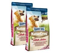 Happy Dog NaturCroq Adult Active, Trockenfutter, 2 x 15kg