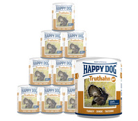 Happy Dog Pur, Nassfutter, 12 x 400g