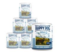 Happy Dog Pur, Nassfutter, 6 x 400g/12 x 400g