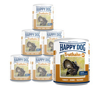 Happy Dog Pur, Nassfutter, 6 x 800g