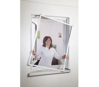 Hecht Fliegengitter Fensterbausatz Master Slim, 130x150 cm