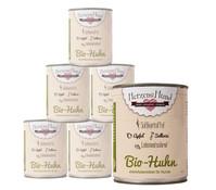 HerzensHund Bio-Huhn, Nassfutter, 12x400g/6x800g