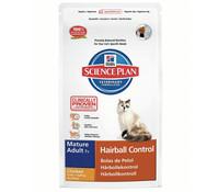 Hills Feline Mature Adult +7 Hairball, Trockenfutter, 1,5 kg