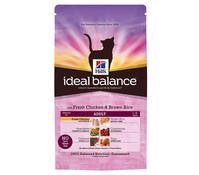 Hills Ideal Balance Feline Adult mit Huhn, Trockenfutter, 300g