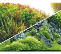 Hobby Aquarium Rückwand Planted River/Green Rocks