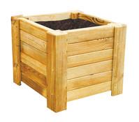 Holz-Blumenkasten Golo, eckig