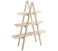 Holz-Etagere mit drei Etagen