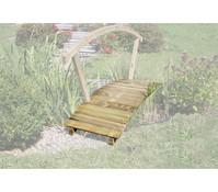 Holz-Teichbrücke, 180 x 60 cm