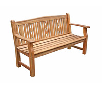Holzbank Bristol, 3-Sitzer