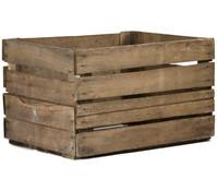Holzkiste, 50 x 40 x 30 cm, braun