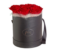 Hutschachtel mit Longlife-Rosen