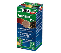 JBL Fischfutter ArtemioPur Artemia-Eier, 40 ml