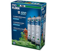 JBL ProFlora u500 2 CO2-Einweg-Vorratsflasche, 3x500g