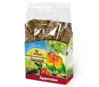 JR Farm Birds Premium für Agaporniden, Vogelfutter, 1 kg
