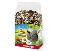 JR Farm Birds Premium für Graupapagei, Vogelfutter, 950 g