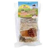 JR Farm Ergänzungsfutter Knabber-Holzrolle Karotte