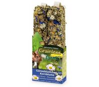 JR Farm Grainless Farmys Gänseblümchen-Kornblume, Nagersnack