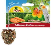 JR Farm Schlemmer-Zapfen für Großsittiche & Papageien, 195 g