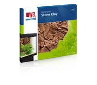 Juwel Aquarium Rückwand Stone Clay