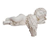 Kanten- Engel liegend aus Polyresin