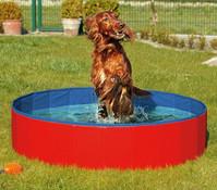 Karlie Doggy Pool, 80 x 20cm, blau/rot