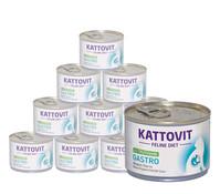 Kattovit Feline Gastro, Nassfutter, 12x175g/24x85g