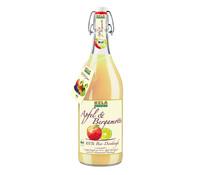 KELA Apfel & Bergamotte 100 % Bio-Direktsaft, 1 L