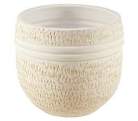 Keramik-Übertopf, rund