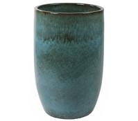 Keramik-Vase Pure, blau, Ø 65 x 98 cm